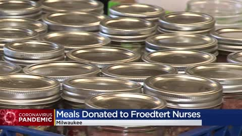 Catering company 'MKE Localicious' delivers meals to nurses...